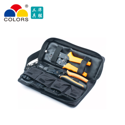 Storage bag placement crimping pliers jaw screwdriver wire stripper