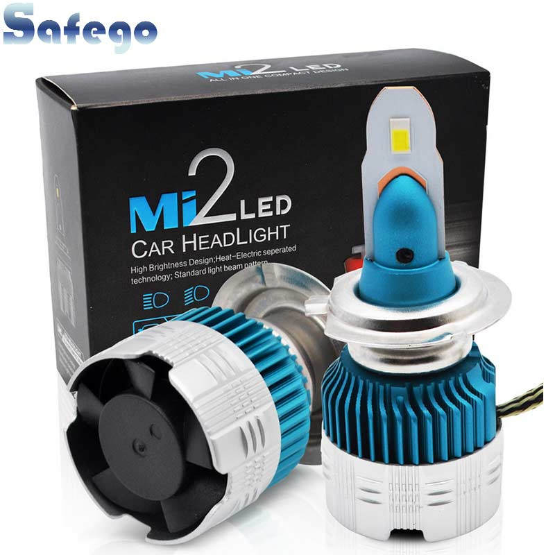 best price safego 2pcs h7 led h4 h11 h8 h9 car headlight bulbs 26wsafego 2pcs h7 led h4 h11 h8 h9 car headlight bulbs 26w 3000lm car styling 6000k