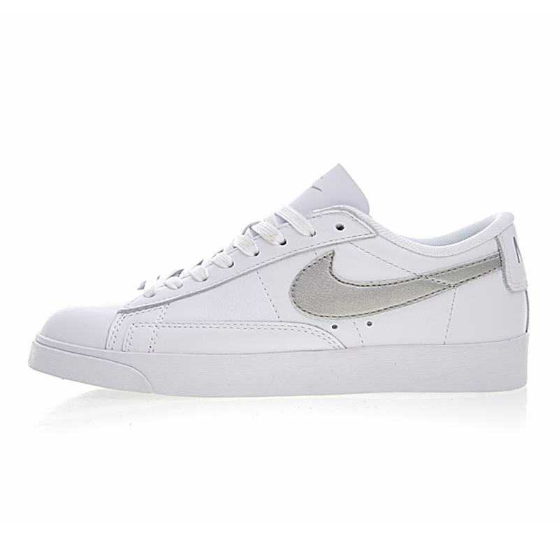 quality design 1adf4 a37e8 NIKE BLAZER LOW LE Women s Skateboarding Shoes , Breathable Lightweight  Waterproof Wear-resistant, White   Silver AA3961 101