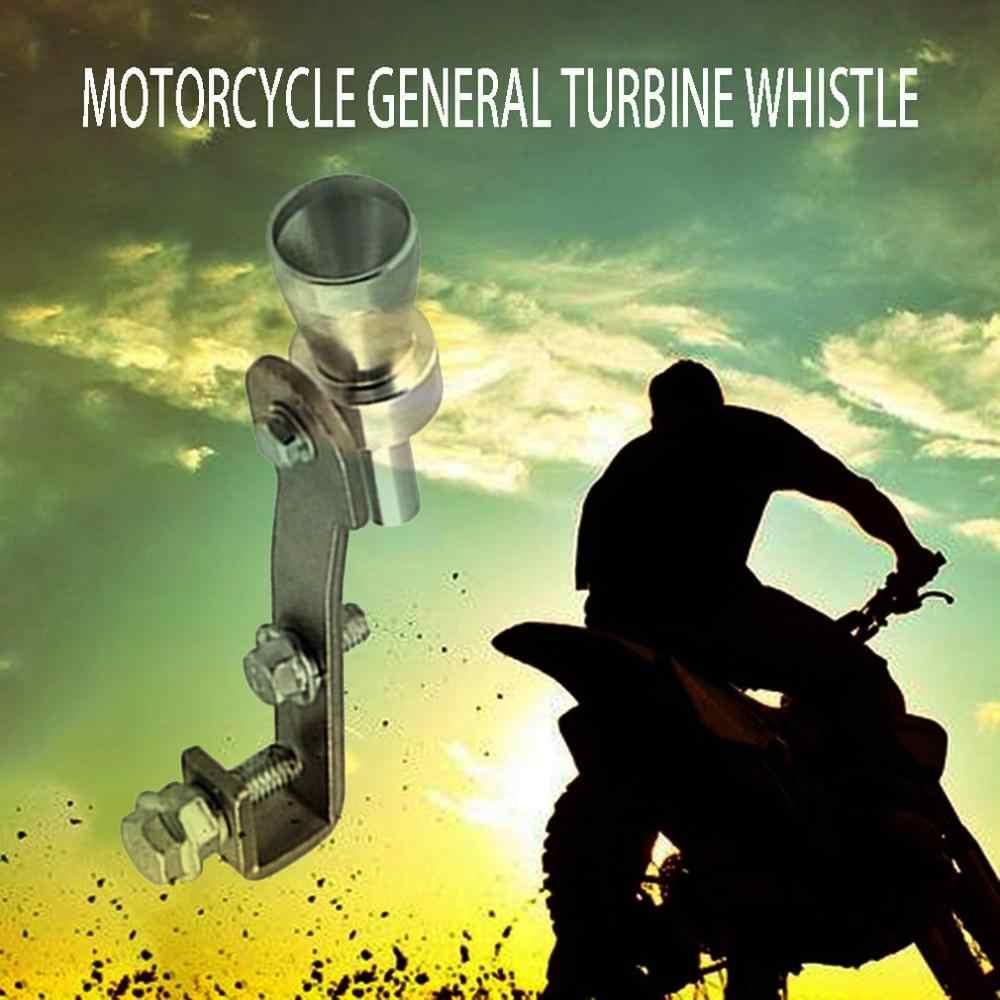 車とオートバイエキゾーストパイプサウンダマフラー修正されたタービン笛ユニバーサル尾笛アクセサリー