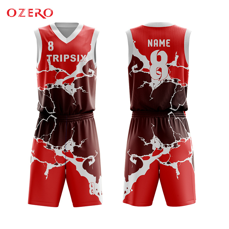 19ac5197eafa 100%polyester top quality full sublimation custom basketball uniforms-in Basketball  Jerseys from Sports   Entertainment on Aliexpress.com