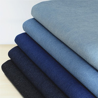 Heavy washed denim fabric/Pure cotton thicker garment jacket pants fabric/Summer shirt cotton fabric