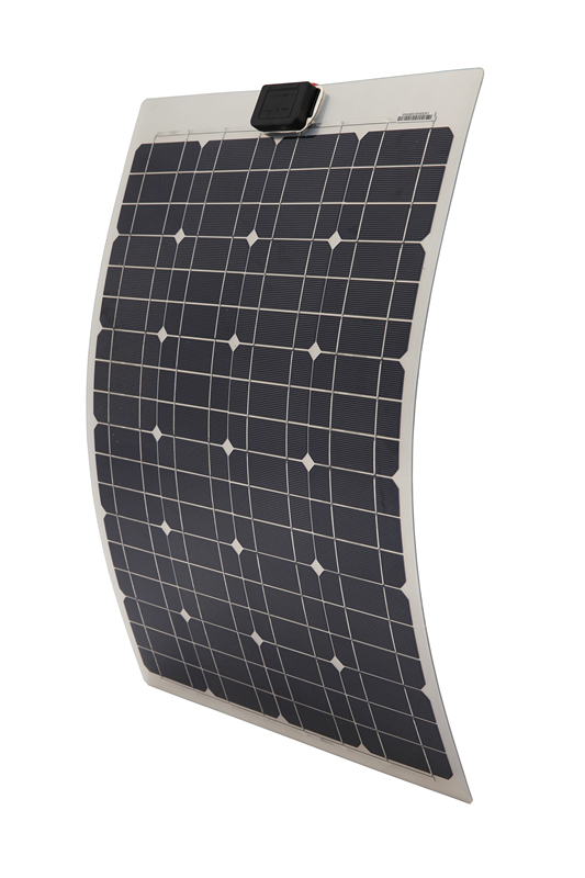 Japan Stock 40W Mono Semi-flexible Pv Solar Panel,40 Watt Solar Panel for Boat RV GE Stock No Tax No Duty