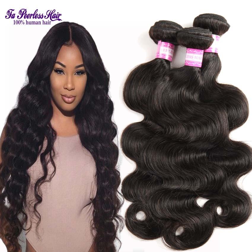 hair brazilian body wave virgin hair bundle deals cheap hair bundles 3 ...