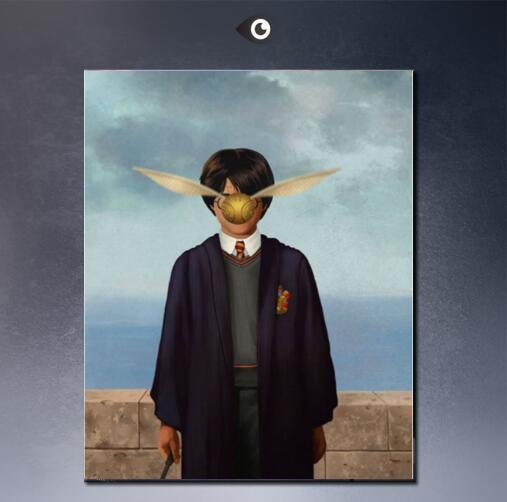 schilderij magritte