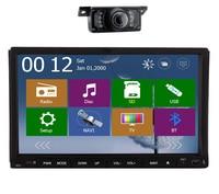 Double 2 Din 7 Inch Head Unit In Dash Car Auto Radio Stereo Video Player GPS