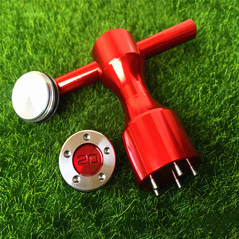 2PCS Putter Weight Wrench Aluminium Alloy Golf Screw Wrench 5g/10g/15g/20g Putter T Weight Golf Putter Spanner