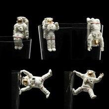Figura pvc astronauta modelo brinquedo 5 pçs/set
