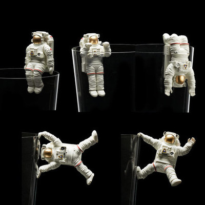 Pvc Figure Astronaut  Model  Toy 5pcs/set