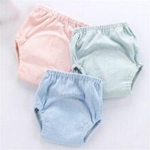 b557bfcb7fbf2 1 piezas bebé pañales reutilizables pañales pañal de tela lavable niños bebé  algodón pantalones bragas pañales