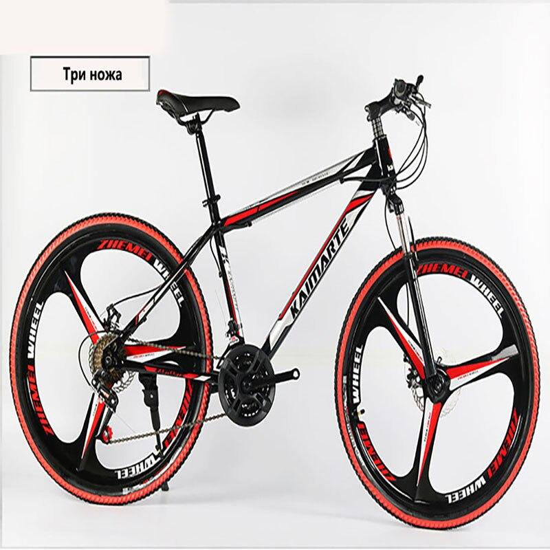 High quality Mountain bike 26 Fatbike21/24/27Speed shock absorber mountain cycling Dual disc brakes of the bike Free Shippin