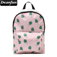 цены Deanfun 3D Printing Backpacks for Girls Cactus Multifunctional Shoulder Schoolbags 81001