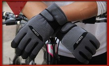 GLV951 men fall and winter cotton font b gloves b font outdoor cycling antiskid sports font