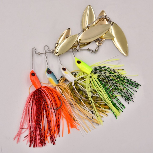SW Thumper 10 Spinner Buzzi Bait bait fishing lure spoon Fresh Water Shallow Water Bass Minnow spinnerbait lures