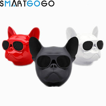 Aerobull собака голову Bluetooth 4,1 шнурки бульдог Bluetooth беспроводной динамик HIFI сабвуфер Поддержка U диск TF карты