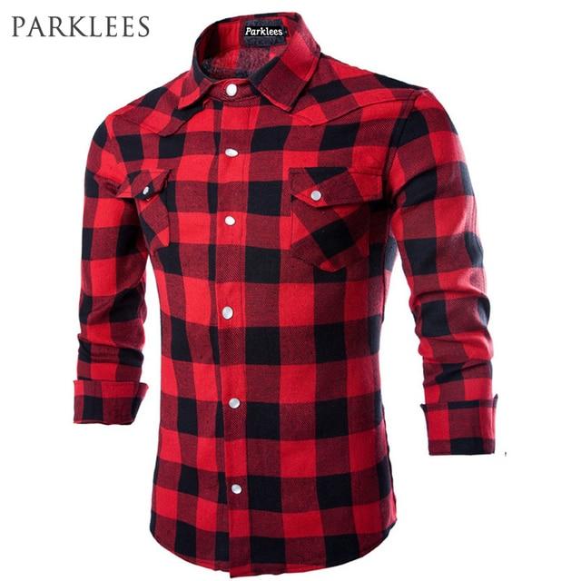 Aliexpress.com: Comprar Marca Camisas A Cuadros 2017 de La