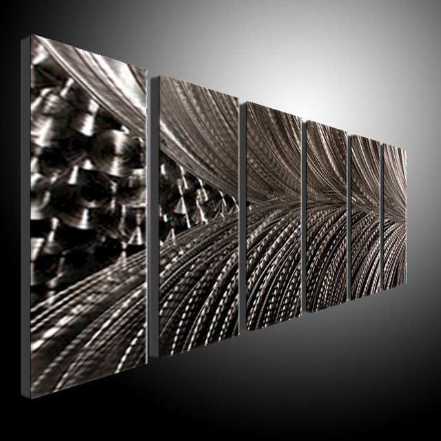Star Metal Wall Art Modern Abstract Painting Sculpture Deco metal ...