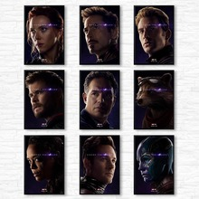 Hot Superheros Marvel Character Comics Pop Art Modern Print Poster Painting Canvas Wall Pictures For Living Room Home Decor