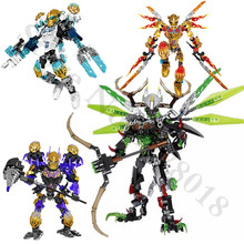 цена на BIONICLE Tahu Ikir action figures Building Block toys Compatible With legoings BIONICLE Gift