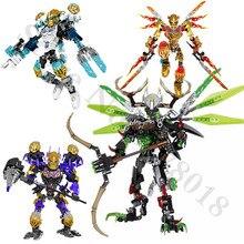 BIONICLE Tahu Ikir figuras de acción, juguetes de bloques de construcción compatibles con Lepining, regalo BIONICLE