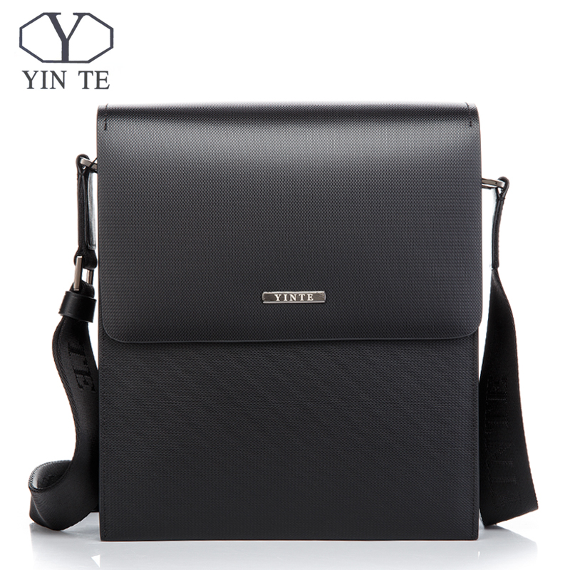 YINTE Classic Mens Messenger Bag Men Business Shoulder Bag Hard Briefcase Cross body Bag Leather Bag Portfolio T8203-2YINTE Classic Mens Messenger Bag Men Business Shoulder Bag Hard Briefcase Cross body Bag Leather Bag Portfolio T8203-2