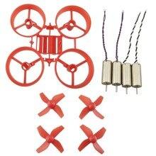 DIY Tiny Whoop RC Drone JJRC H36 Eachine E010 Frame Kit Propeller Brush Motor Propeller Spare Parts
