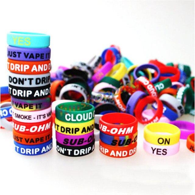 Aliexpress.com : Buy 30pcs Anti slip Ring silicone rubber band vape ...