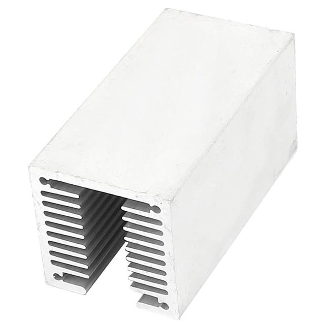hot-1 x silver-aluminum radiator U 80 * 40 * 40mm 1