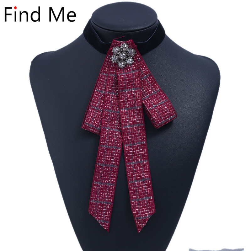 Find Me 2018 Exaggerated pattern collar Choker Necklace Women jewelry boho cloth Crystal Mosaic long tassel statement Necklace