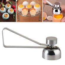 Household Stainless Steel Egg Topper Egg Cutter Openers Egg Scissors Kitchen Tool Shell Cutter Tool for Eggs hot sale kitchen cooking tool egg cutter stainless steel shell opener