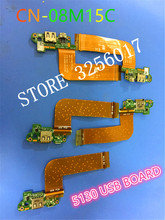 Original NEW T06G T11G USB CHARGE BOARD FOR DELL FOR VENUE 11 PRO 5130 MLD-DB-USB 08M15C WITH CABLE 100% Work Perfectly