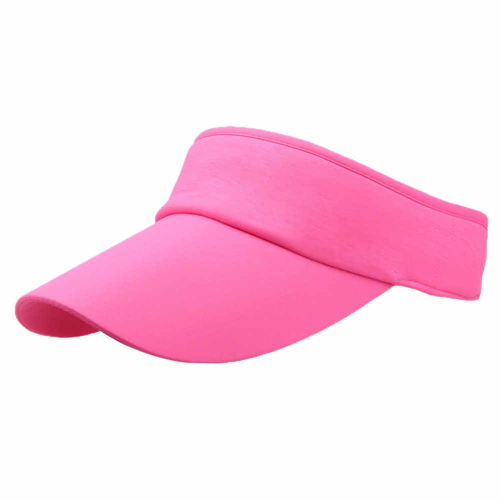 Verano に mujer 帽子女性夏男性女性スポーツヘッドバンド太陽スポーツ帽子キャップソンブレロ mujer