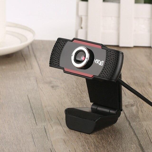 USB Web Cam Webcam HD 300 Megapixel PC Camera với hấp thụ Microphone MIC cho Skype cho Android TV Xoay Máy Tính máy ảnh