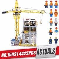 DHL LePin 15031 натуральная MOC серии классический строительный сайт строительные блоки кирпичи legoing игрушка модель в качестве рождественского под