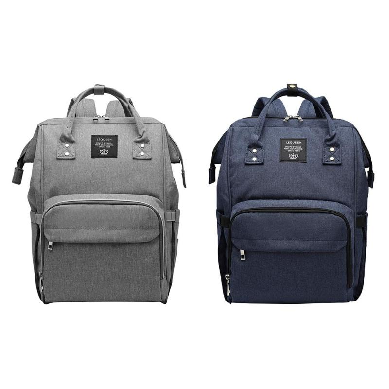 LEQUEEN  New Baby Diaper Bag Fashion Mummy Maternity Nappy Bag Large Capacity Baby Bag Travel Backpack Designer Nursing Bag