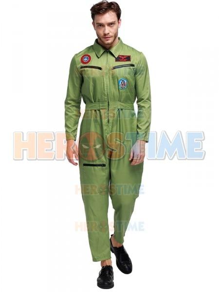 Fashion Mens Pilot Uniform Adult Airline Pilot Halloween Costume  sc 1 st  AliExpress.com & Fashion Mens Pilot Uniform Adult Airline Pilot Halloween Costume-in ...