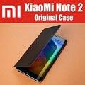 Mi note2 bp1025 original oficial stock elegante magnético del tirón del cuero cubiertas para xiaomi mi note 2 case pantalla flexible
