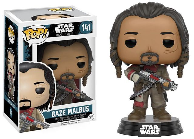 Funko Pop! Star Wars Action Figure – Baze Malbus