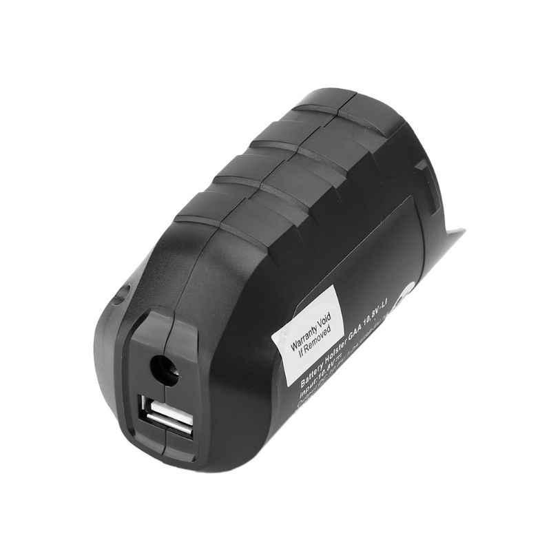 USB Adapter Oplader Holster Vervanging Voor BOSCH Professionele Li-Ion Batterij 10.8 v/12 v BHB120