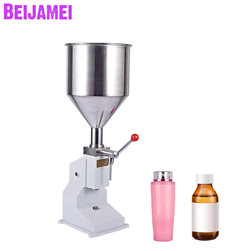 Beijamei 0~50g Manual Food Filling Machine Small Quantitative Liquid Paste Filler Machines For Food Daily Chemical
