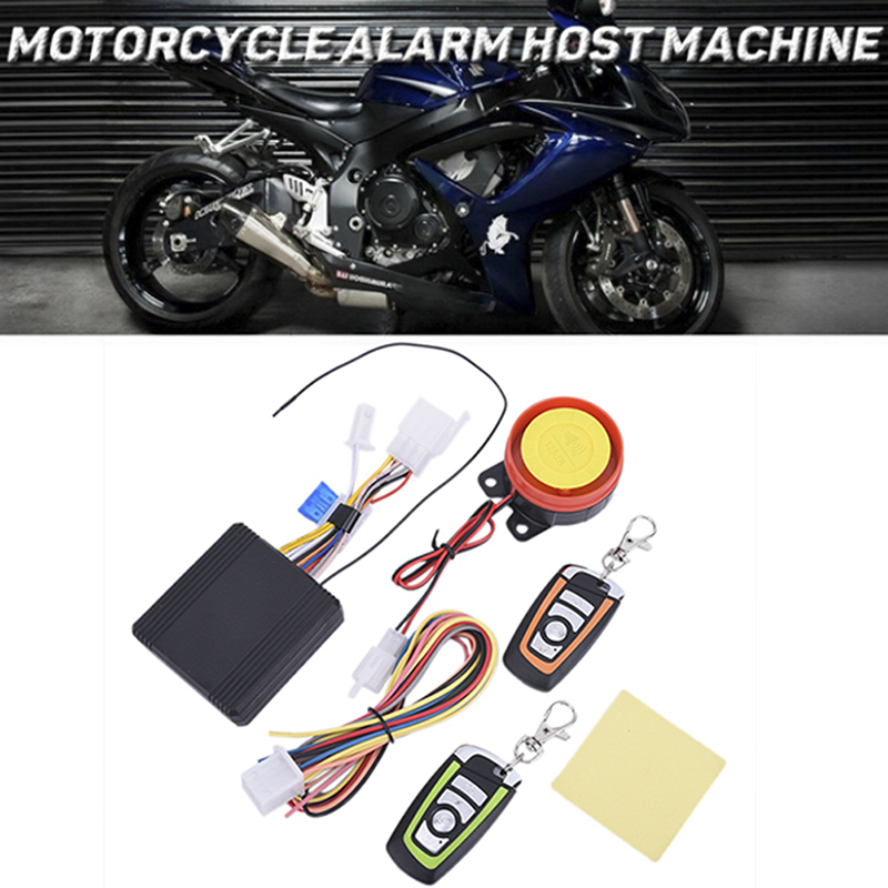 2-way Alarm System Alarma Moto 125db Universal Motorcycle Alarm With Engine Start Remote Control Key Fob Anti-theft Security