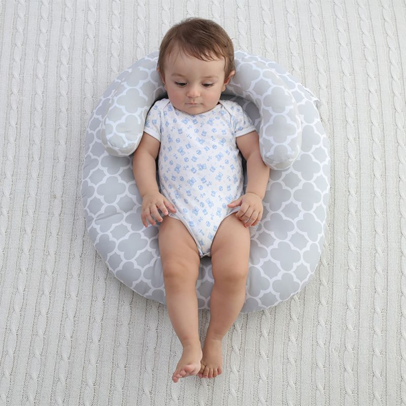 Newborn Sleep Mattresses Infant Baby Bedding Crib Nursing Pillow Anti Roll Sleeping Cushion