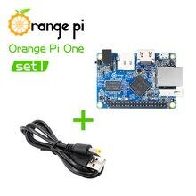 Оранжевый Pi One SET1: OPi One и USB к DC 4,0 мм-1,7 мм кабель питания Поддержка Android, Ubuntu, Debian