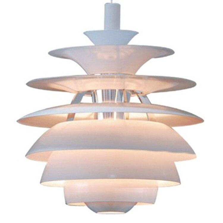 Modern Designer Dining Room Pendat Lights LED E27 Louis Poulsen PH Snowball Hanglampen Lamp Light Fixtures For Restaurants Hotel