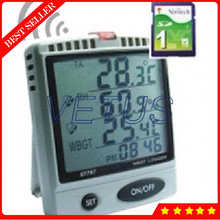 Best Buy AZ87798 LCD Digital Thermometer Hygrometer Temperature Humidity Meter with Dew Point Temperature Detector diagnostic-tool termom