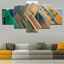 Chambotrade Canvas Art Pictures Home Decor 5 Panel Modern