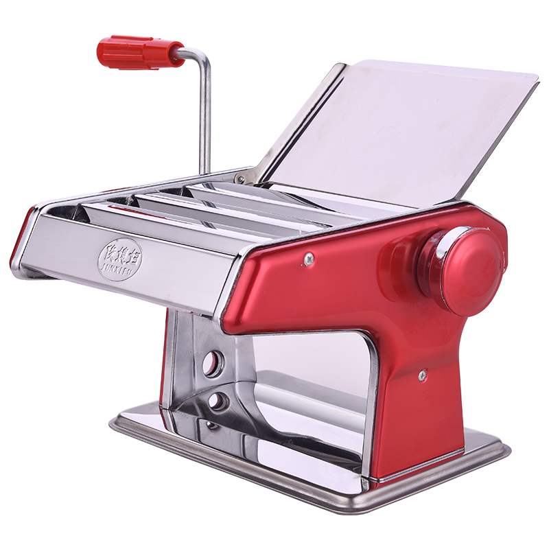 Multifunctional manual domestic pasta machine Noodle making machine Stainless Steel Pasta Maker Roller Machine 2-9mm 2l spanish manual stainless steel churro maker machine