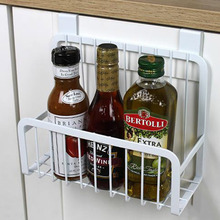 Creative Metal Over Door Storage Basket Practical Kitchen Cabinet Drawer Organizer Hanger With The Hook