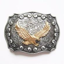 JEANS FRIEND New Original Western Rodeo Fly Eagle Double Color Belt Buckle Gurtelschnalle Boucle de ceinture