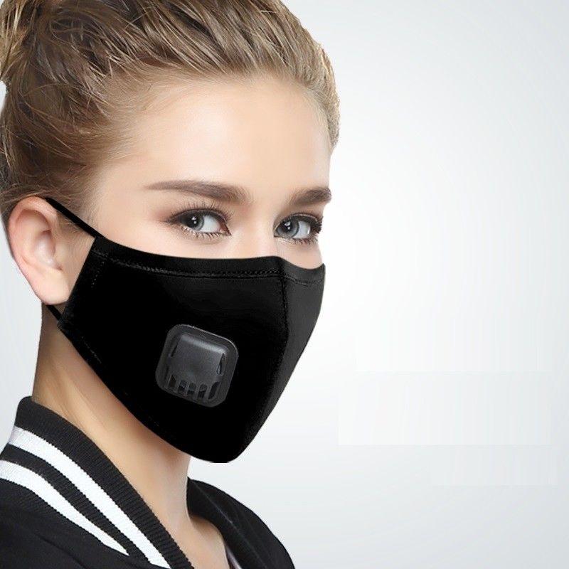 Frauen Solide Anti-staub Nebel Baumwolle Mund Gesicht Maske Männer Atmungs Atemschutz Atmung Atmung Maske Gesundheit Zubehör C260 Masken Bekleidung Zubehör
